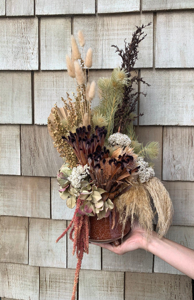 Rusty Dried Arrangement