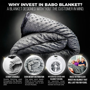 Babo Weighted Blanket for Kids