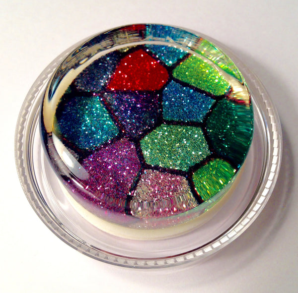 Stained Glass Sparkle