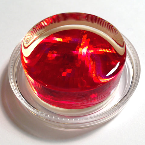 Red Infinity Hologram