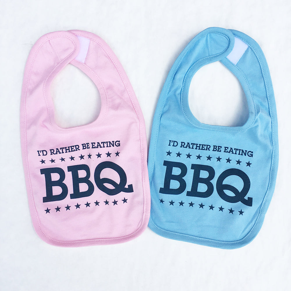 I'd Rather Be Eating BBQ Bib
