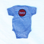 Burp Button Onesie