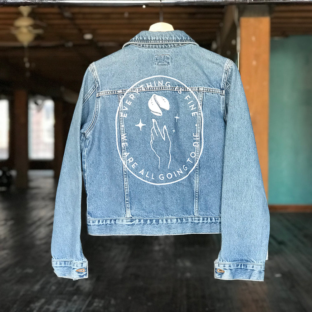 EIFWAAGTD Denim Jacket - CK Jeans (Women's M-L)