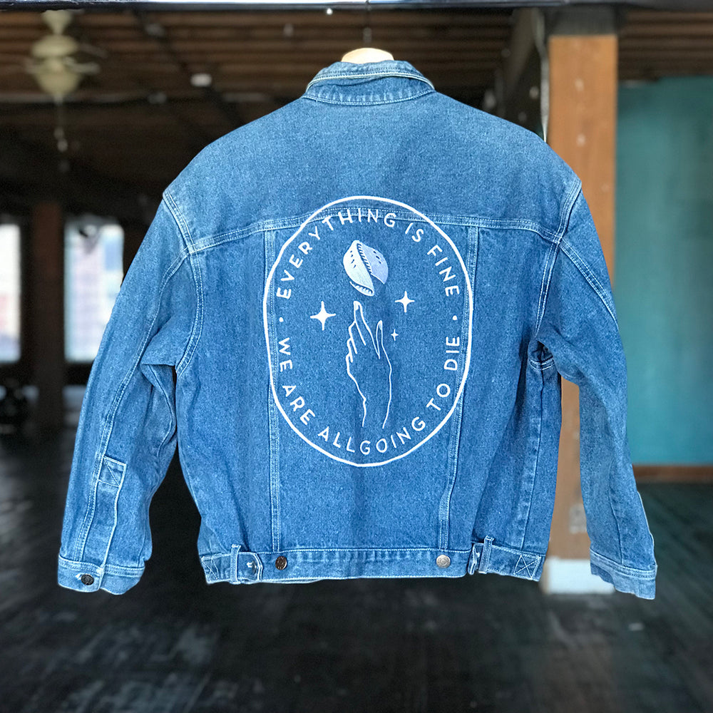 EIFWAAGTD Denim Jacket - INC (Women's S)