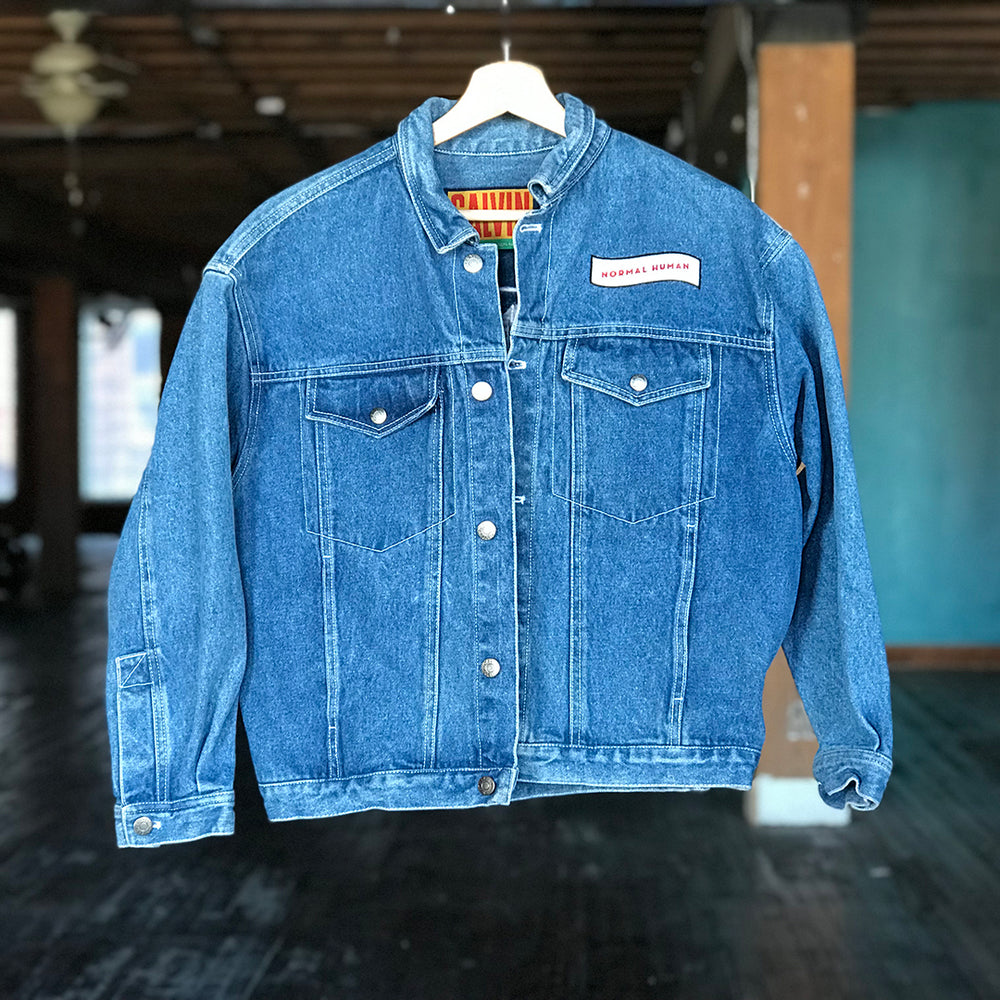 EIFWAAGTD Denim Jacket - CALVIN (Women's L)