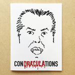ConDRACULAtions Greeting Card