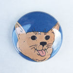 Corgi Button
