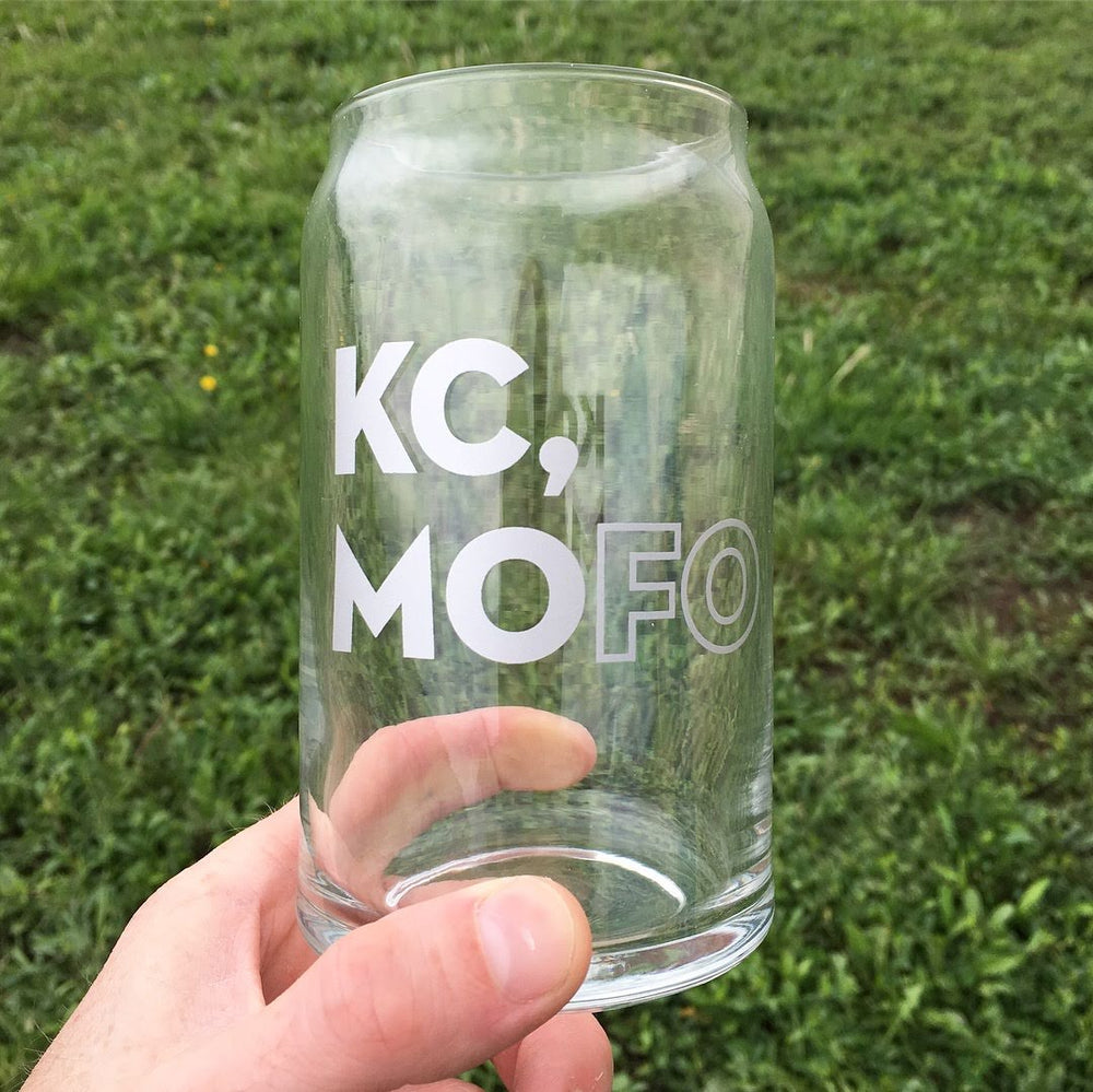 KC,MOFO Can Glass