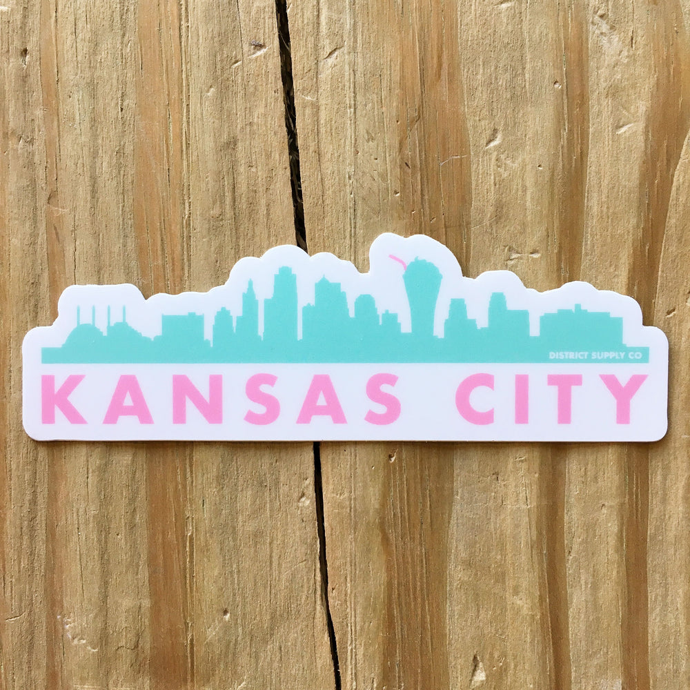 Kansas City Skyscrapers Sticker