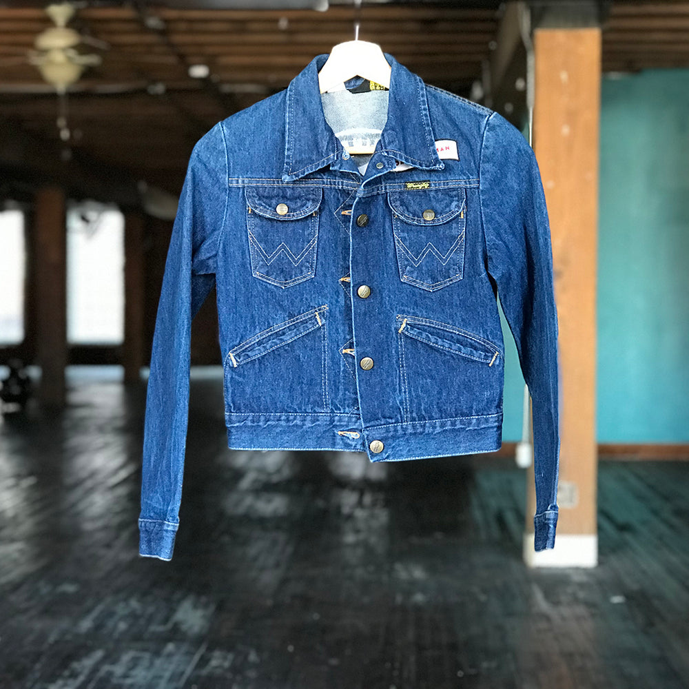 EIFWAAGTD Denim Jacket - Wrangler (Children's Size 5)
