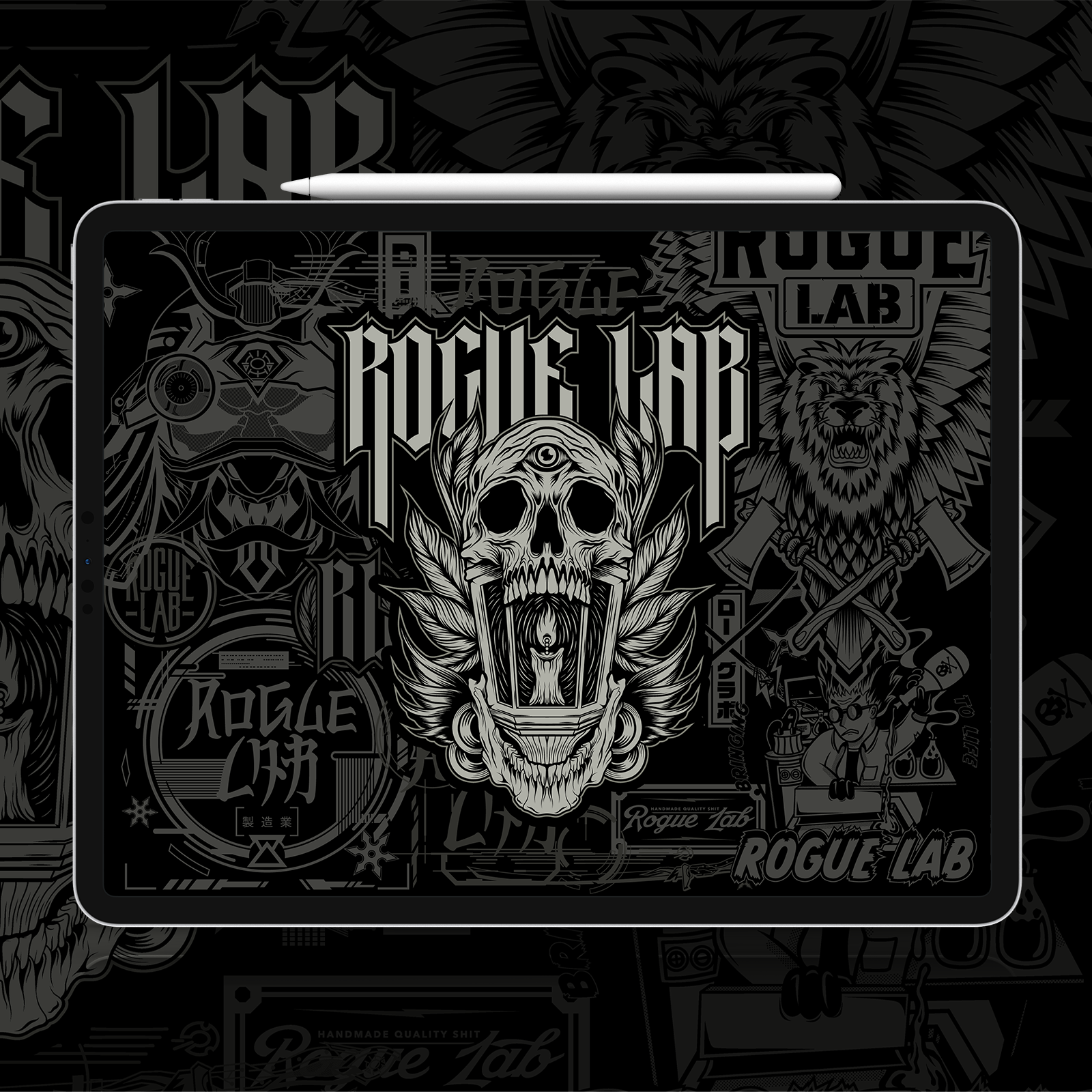 Rogue Lab Legacy Wallpaper - iPad