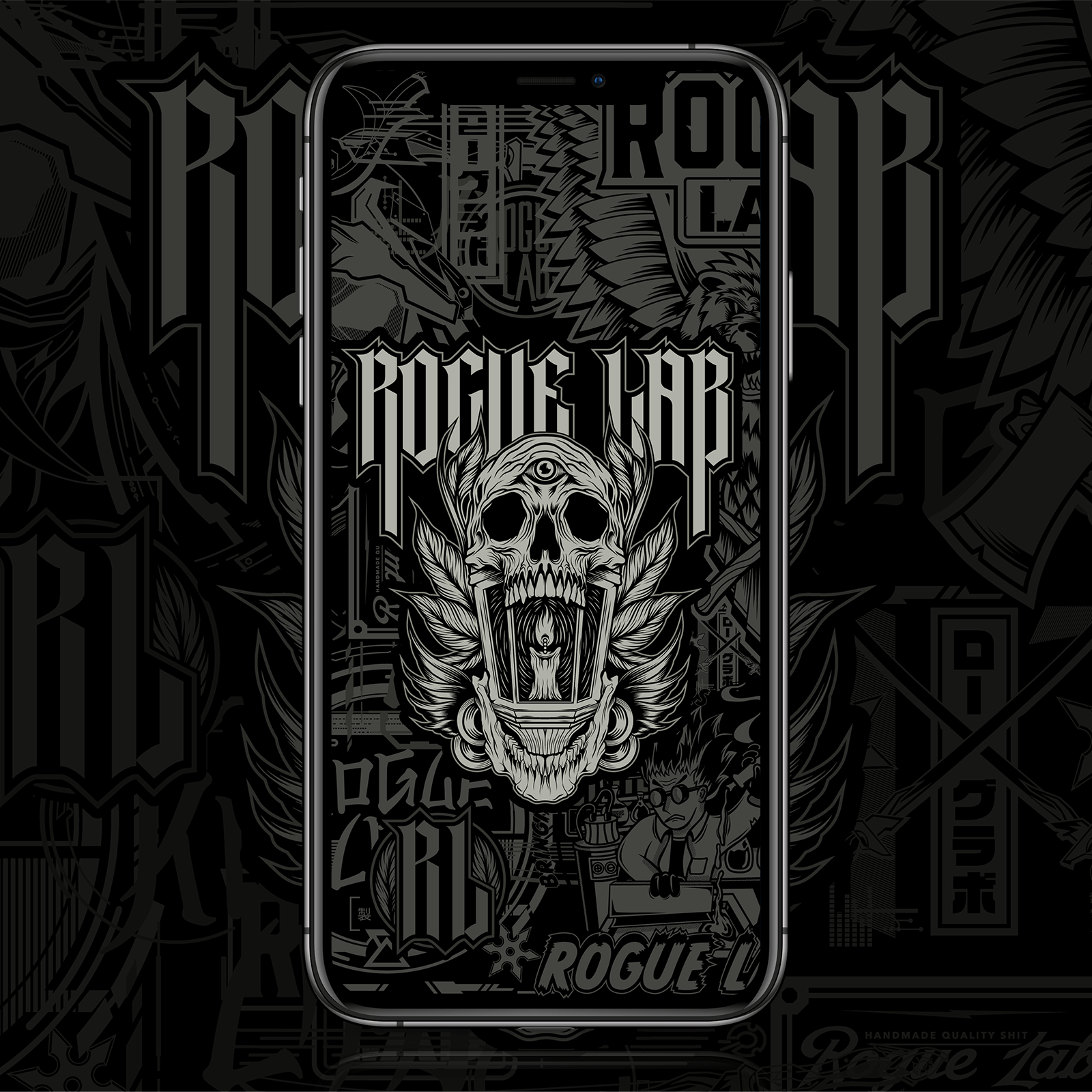Rogue Lab Legacy Wallpaper - iPhone