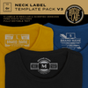 Neck Label Template Pack V3