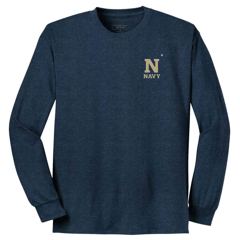 Naval Academy 2018 LS Tee T-Shirts Authentically American LLC