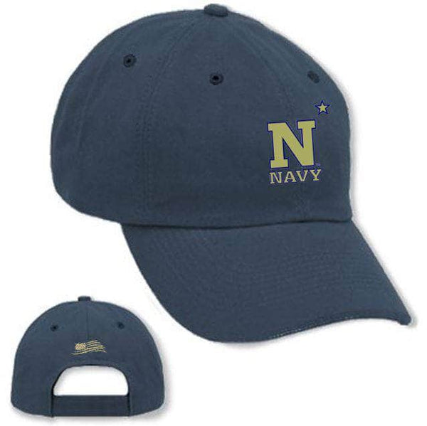 "Navy ""Dad"" Hat Cap Authentically American LLC Navy"
