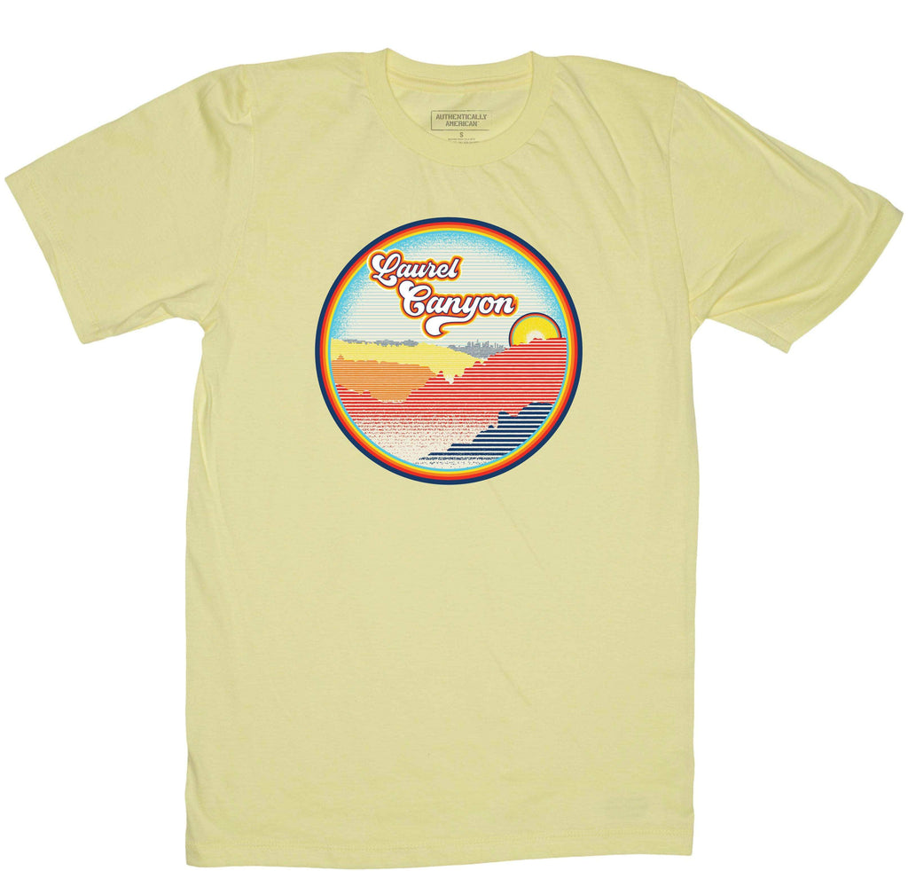 Retro-Phit Laurel Canyon Tee T-Shirts RetroPhit S Lemonade