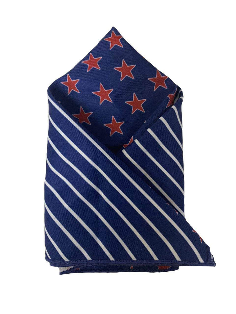 Stars & Stripes Pocket Square Default Authentically American