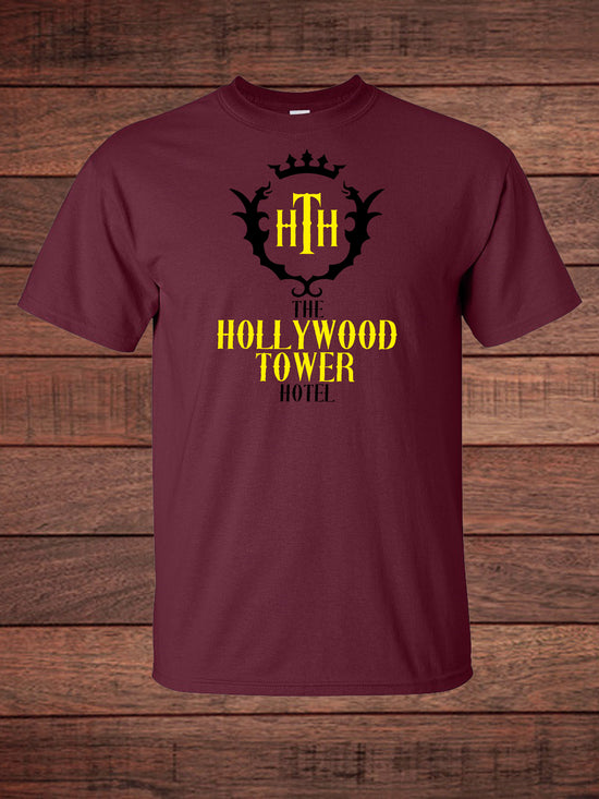 e6ef6f32b What a Ride on The Hollywood Tower Hotel and Tower of Terror with this  Replica Maroon