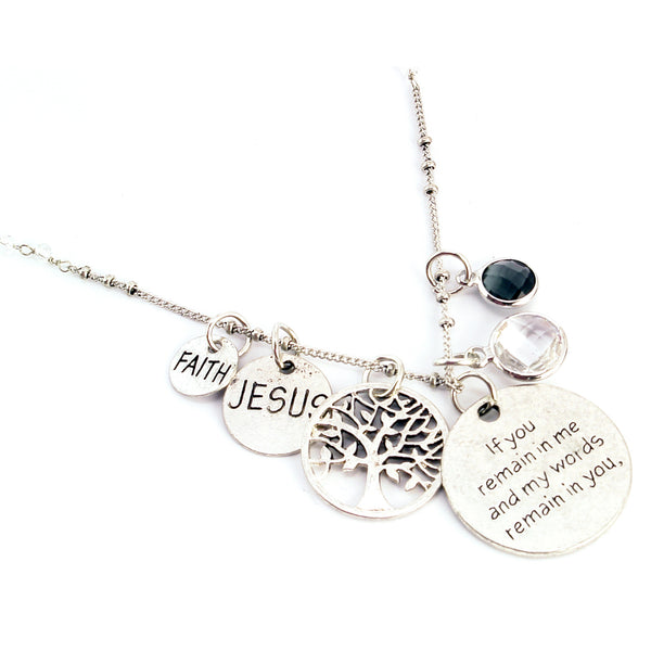 ABUNDANCE NECKLACE (JOHN 15:7)