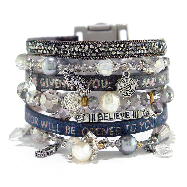 Amica Bible Verse Come Together Cuff