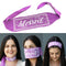 100% COTTON MADE IN THE USA BLESSED - PURPLE TRI-BANDANA FACE MASK