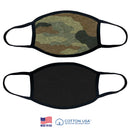 CAMOUFLAGE PLAIN FACE MASK