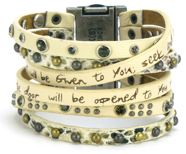 Rain Come Together Cuff - Scripture & New Regular