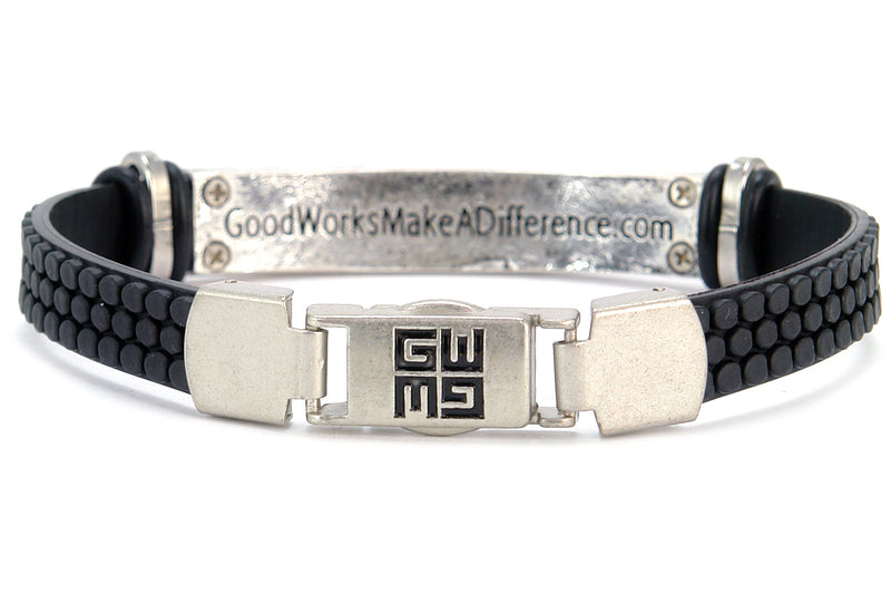 Arc Men's Bible Verse Bracelet