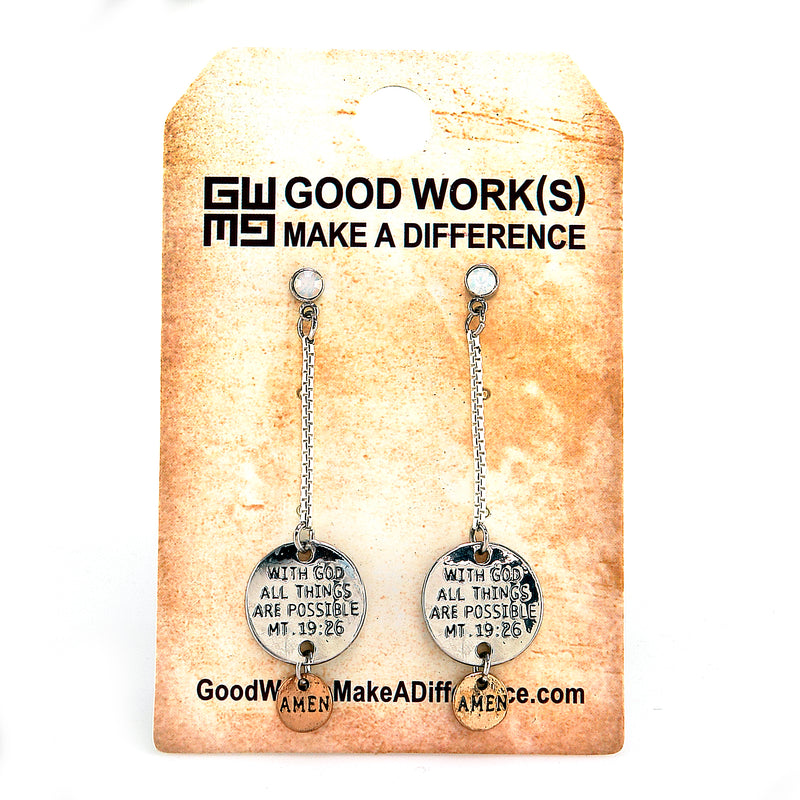 GOSPEL EARRINGS