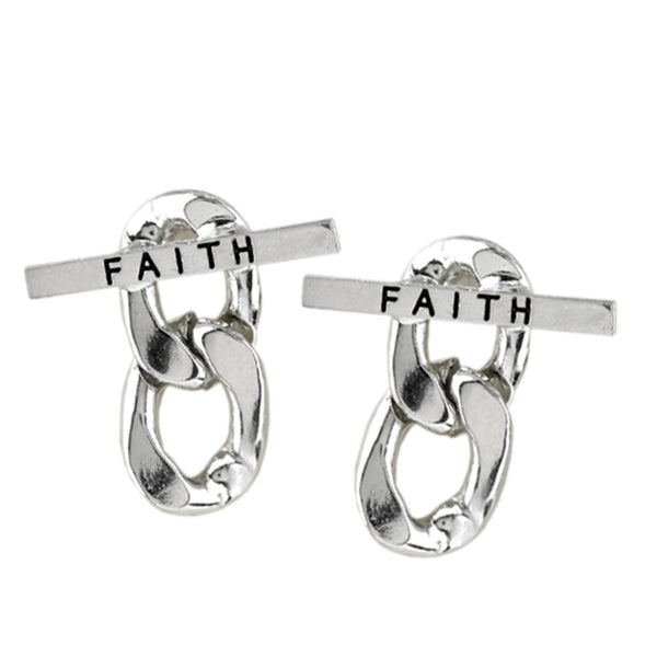Faithful Hoop Earring