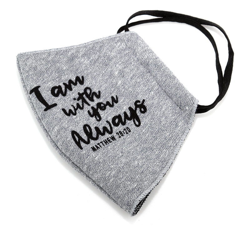 FLEECE FABRIC 3D MASK - MATTHEW 28:20