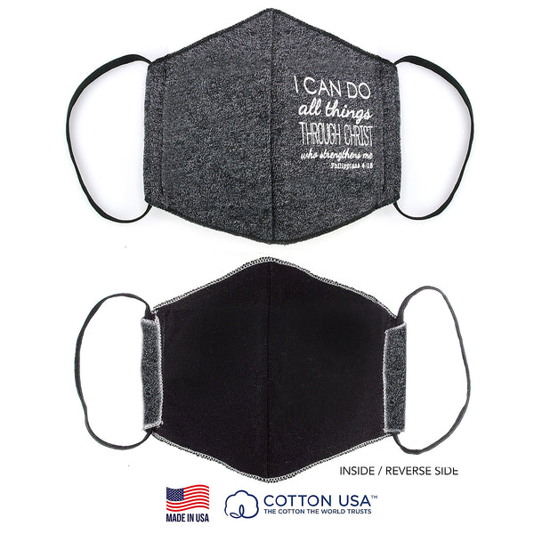 FLEECE FABRIC 3D MASK - PHILIPPIANS 4:13