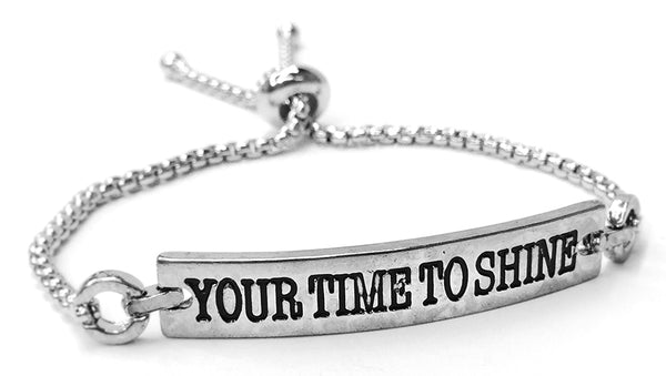 ID Belle Bracelet - POWER WORDS - YOUR TIME TO SHINE