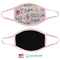 100% COTTON MADE IN THE USA INSPIRATION PINK FABRIC FACE MASK