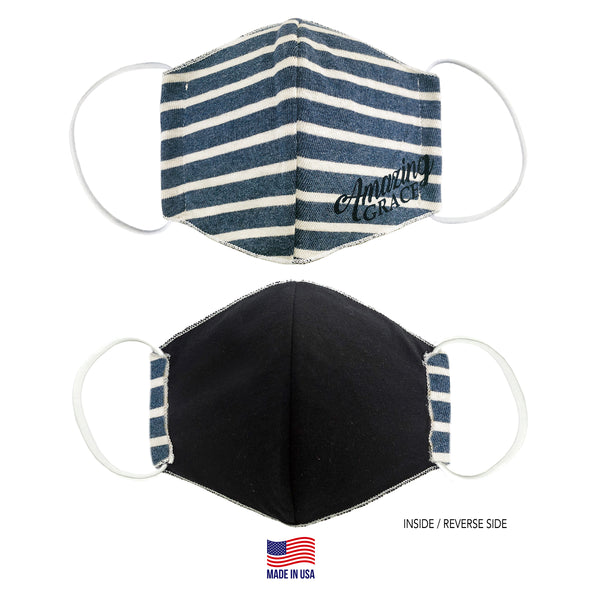 MADE IN THE USA - AMAZING GRACE - 3D FABRIC FACE MASK - SERIES 2
