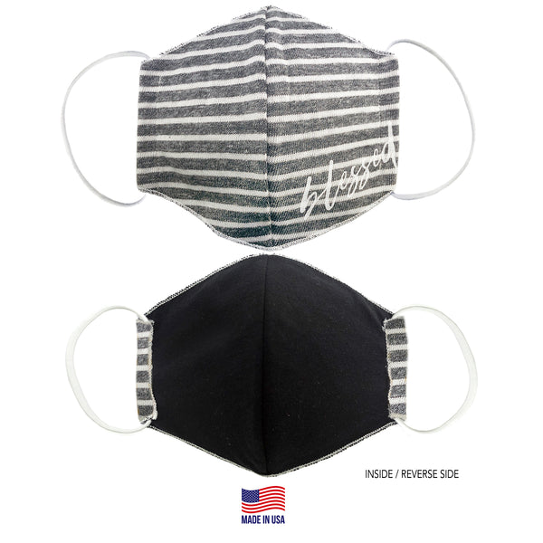 MADE IN THE USA - BLESSED - 3D FABRIC FACE MASK - SERIES 2