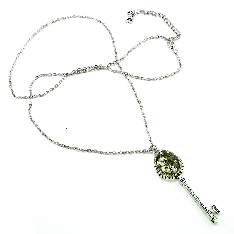 Flourish Key Necklace