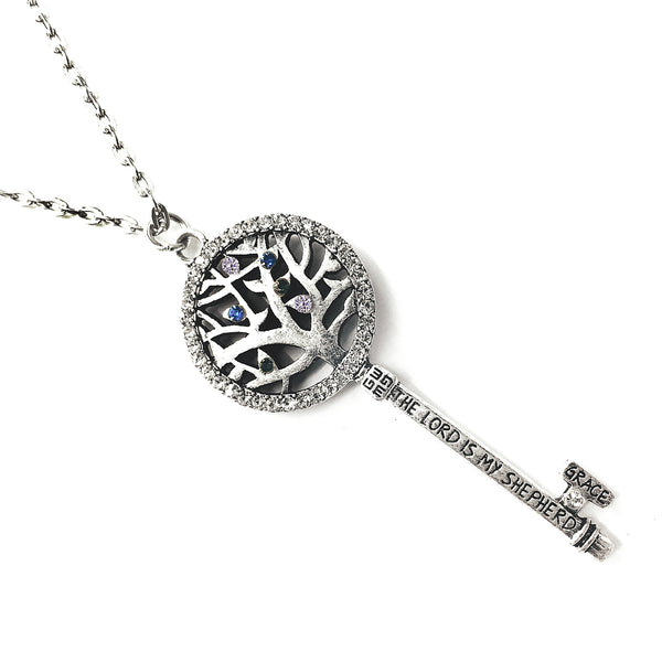 ARBOR KEY NECKLACE - Scripture