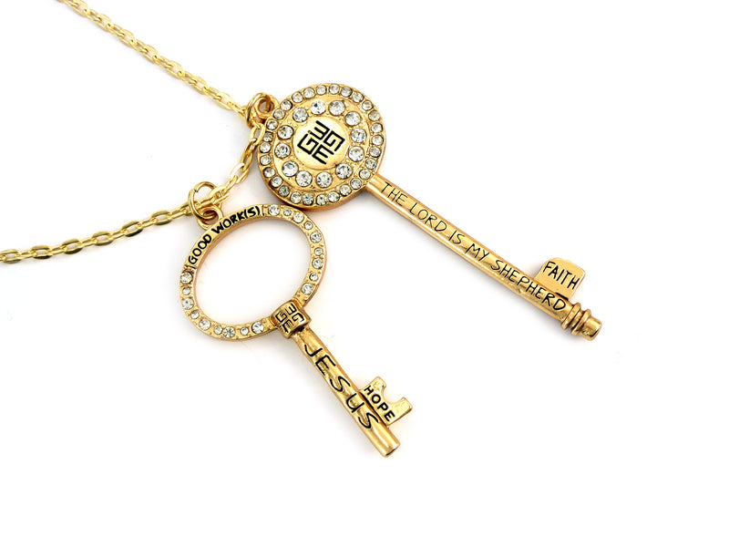 Infinite Jesus Key Necklace