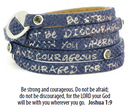 WRAP AROUND MOSAIC WITH CRYSTALS NEW BIBLE