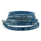 RW - Scripture Wrap Around with Stones - Corinthians 5:7 - Navy