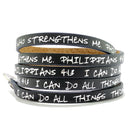 Bible Verse Wrap Around – Philippians 4:13 – Black