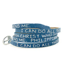 RW - Scripture Wrap Around - Philippians 4:13 - Stardust Navy