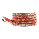 You are Beautiful  Wrap Around - Red