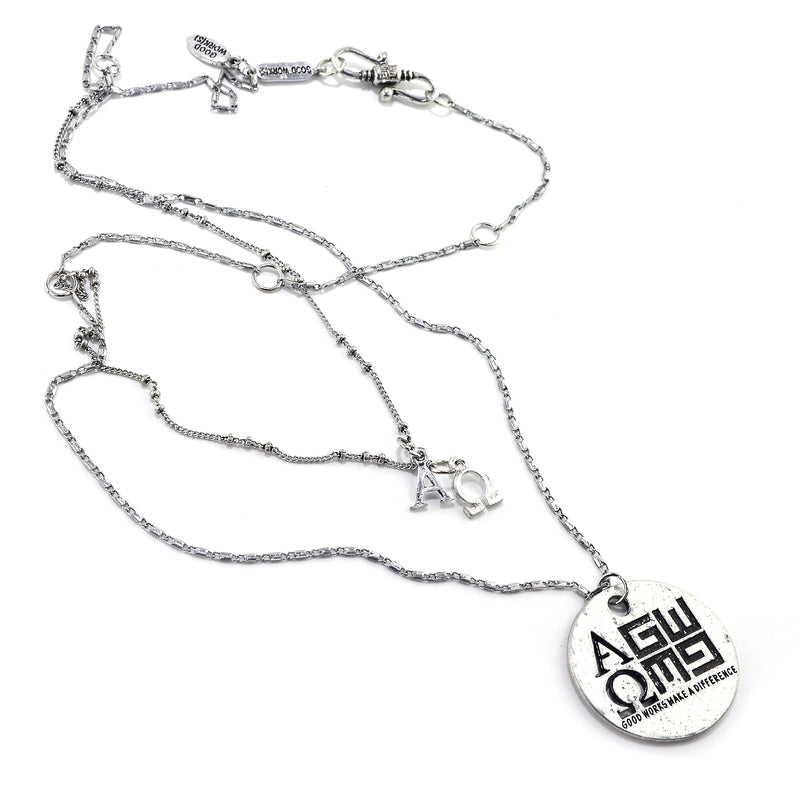 Alpha & Omega Necklace