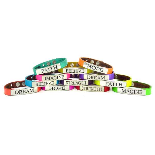 Life's Inspiration Singles Bracelet - Happy Days