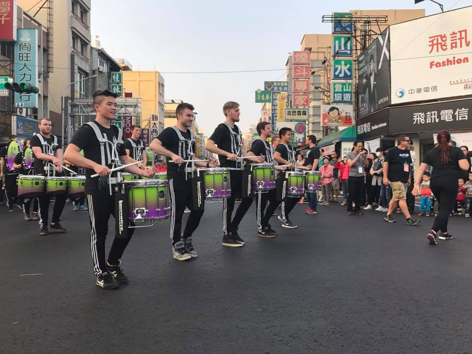 Lot Riot in Taiwan Parade with Matrix Percussion