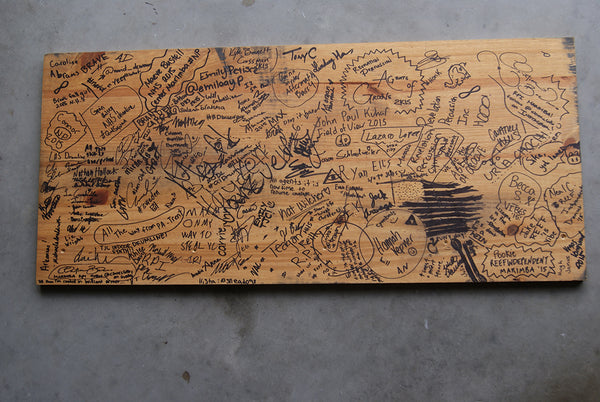 Lot Riot desk top signatures from WGI 2015