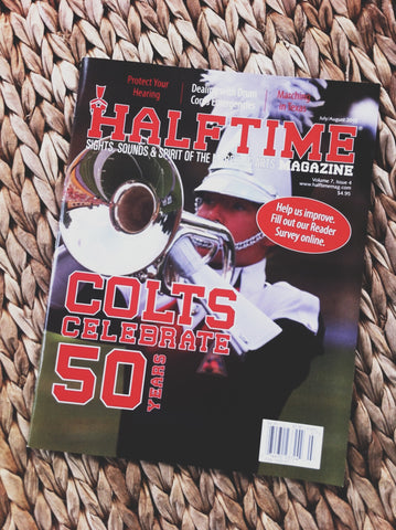 Halftime Magazine featuring Lot Riot Clothing Co.