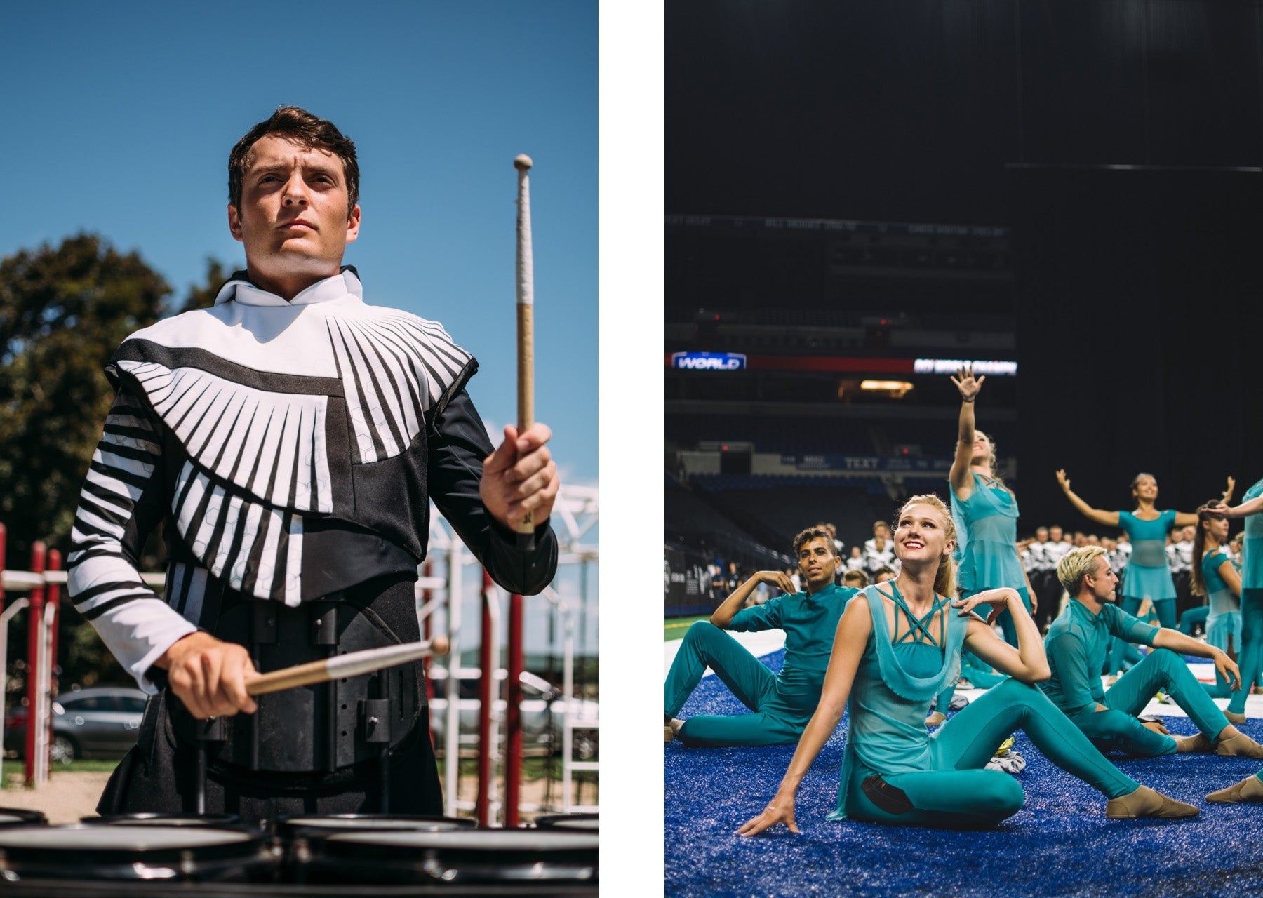 Phantom Regiment Liset Garcia Lot Riot Photography Feature